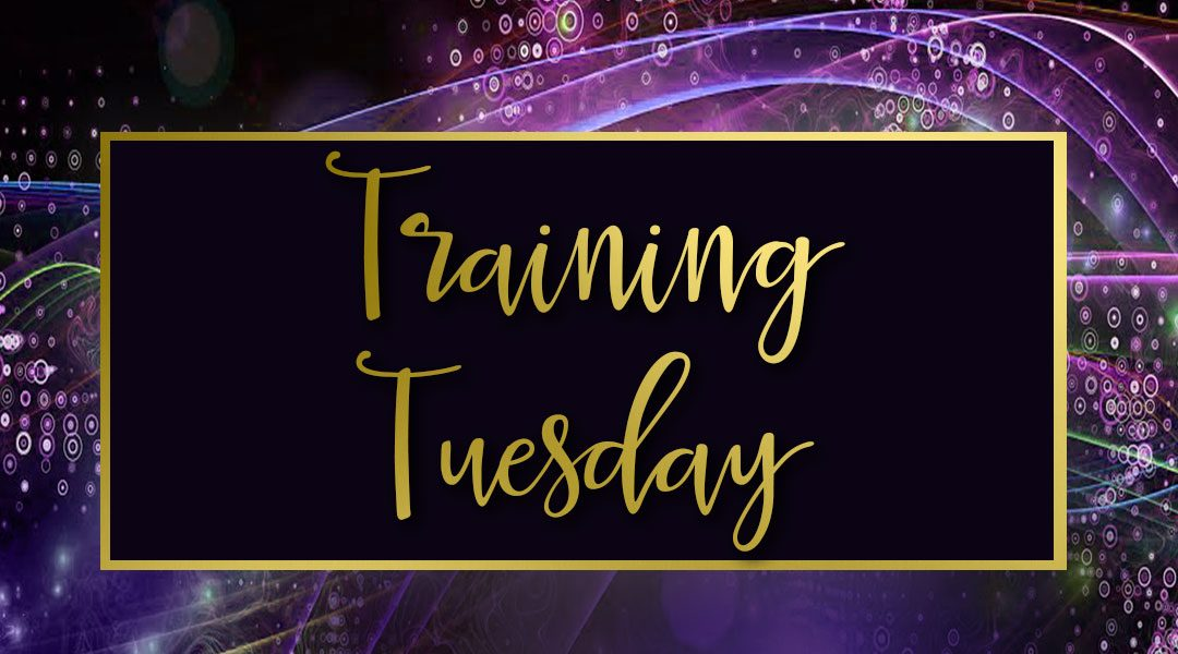 Training Tuesday: Energy and Dreams